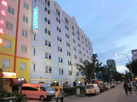 Hotel 81 - Star: View from Lor 18, Hotel 81 Star, Geylang