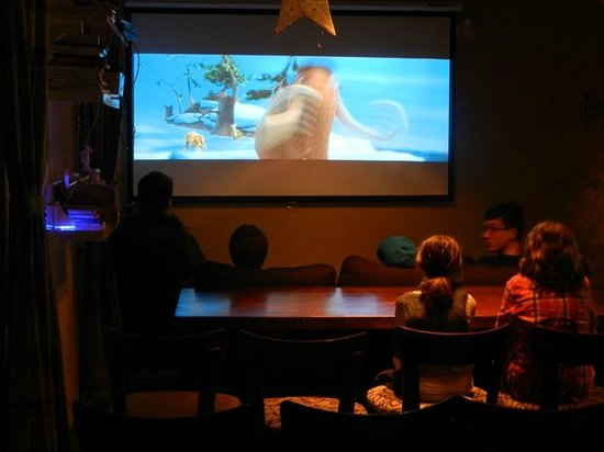 Hotel Surselva : Eventroom-Cinema