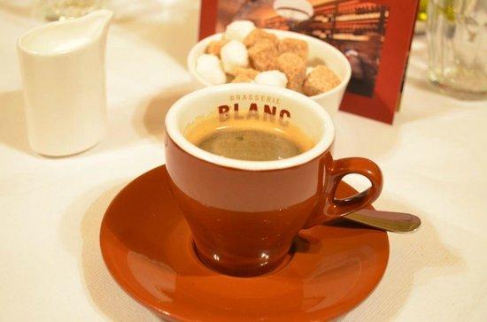 Brasserie Blanc Chancery Lane: Great coffee!!