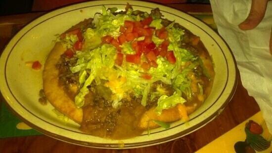 Casa DE Fiesta Mexican Grill: Indian tacos