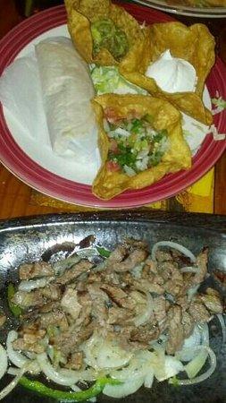 Casa DE Fiesta Mexican Grill: tacos de carne asada