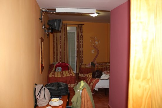 Hotel Quentar:                   vista habitacion