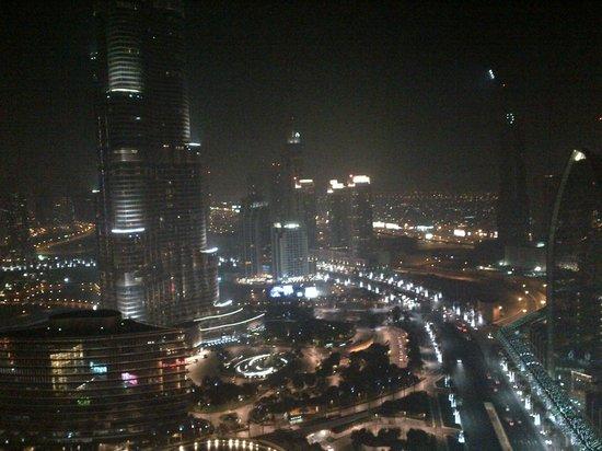 Address Dubai Mall:                                     Night view