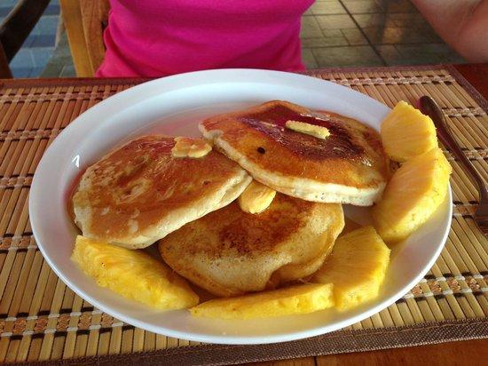 Agua Dulce Beach Resort:                   Breakfast