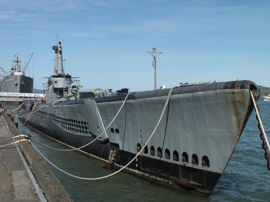Fisherman's Wharf: A must visit, USS Pampanito...