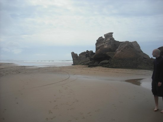 Essaouira Beach:                   Ruins on the beach...