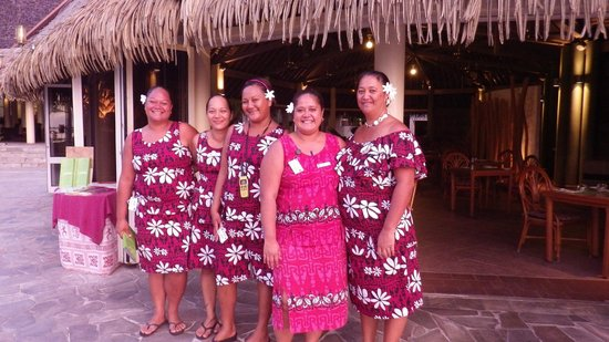 InterContinental Resort & Spa Moorea:                   la brigade