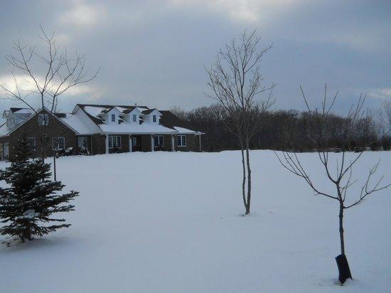 Wenzler's Landing Bed & Breakfast: A winter wonderland