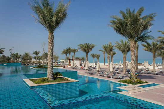 The St. Regis Saadiyat Island Resort: One of the many pools