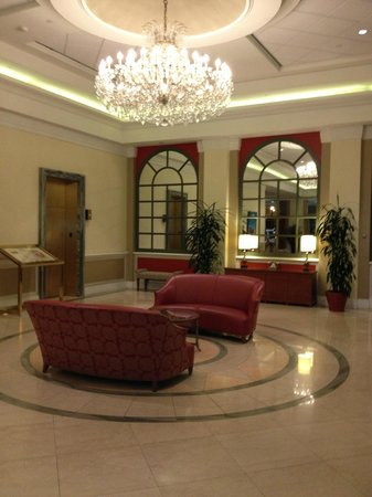 Tower Square Hotel Springfield:                   Lobby