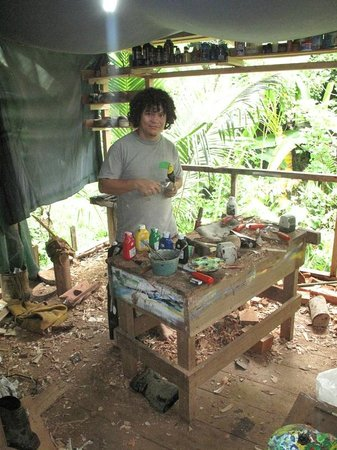 Talamanca Family Art:                                                                         workshop and owner