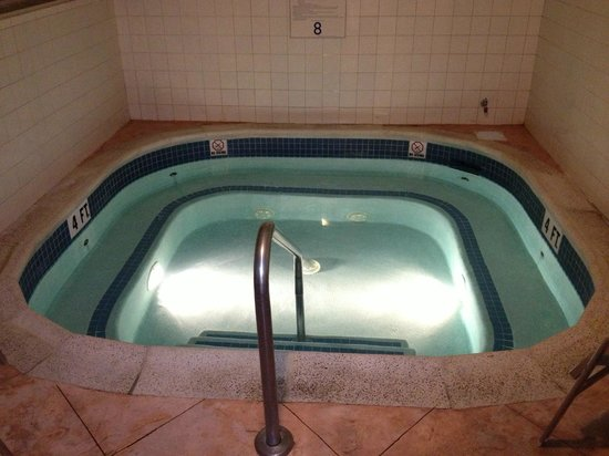 Tower Square Hotel Springfield:                   Jacuzzi