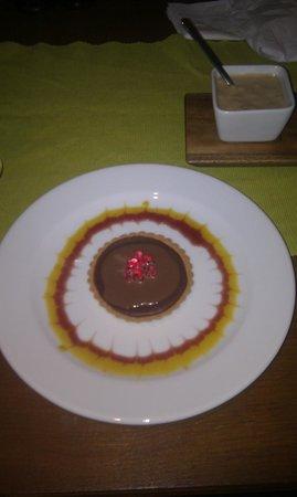 Gresham:                   Our Chocolate Tart Dessert