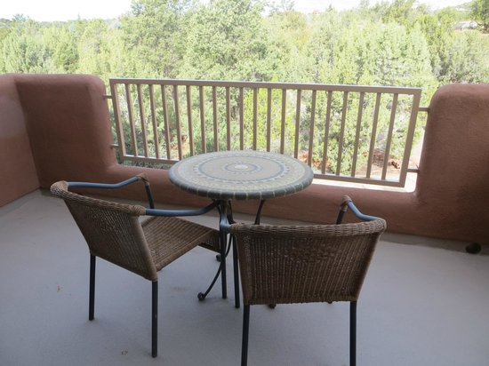 Alma de Sedona Inn Bed & Breakfast: Native Spirits Deck