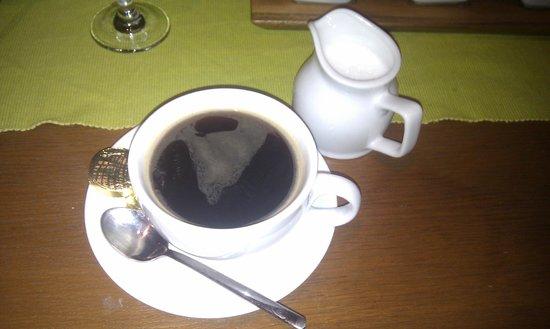 Gresham:                   Large Fresh Coffee to top it off