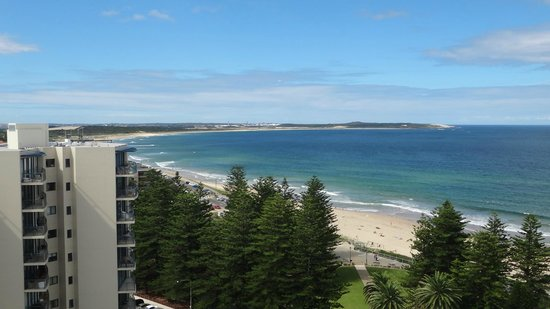 Rydges Cronulla:                   View from the room