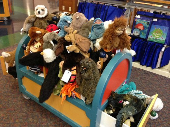 Milwaukee Public Library:                   wide selection of puppets