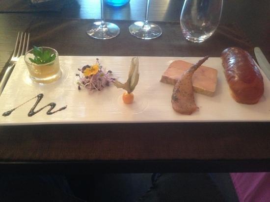 Fleur de Sel:                   entrée foie gras