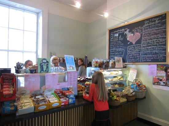 County Laois, ไอร์แลนด์: CaToCa Tea rooms at Emo Court - Bring a picnic, cheaper (and nicer)