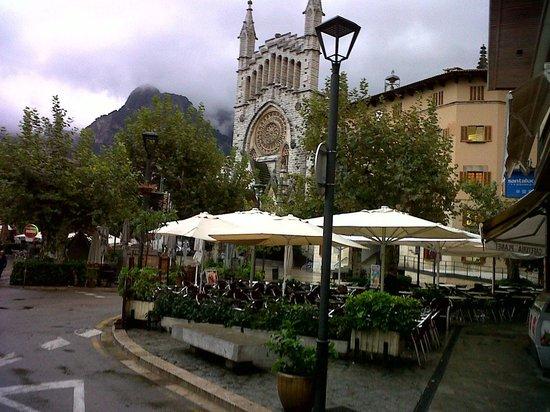 Hotel El Guia:                   Soller, centro
