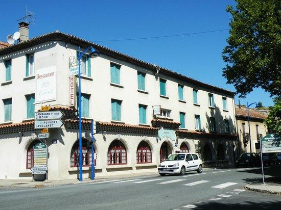 Hotel Restaurant Le Canal:                                     Exterieur
