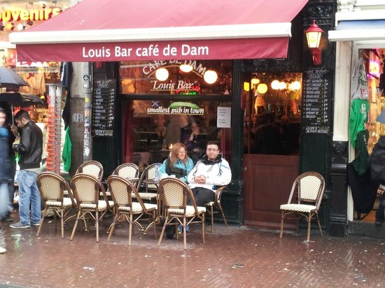 Cafe De Dam Louis Bar Amsterdam