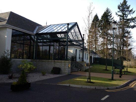 Gleneagles:                   Dormy Clubhouse