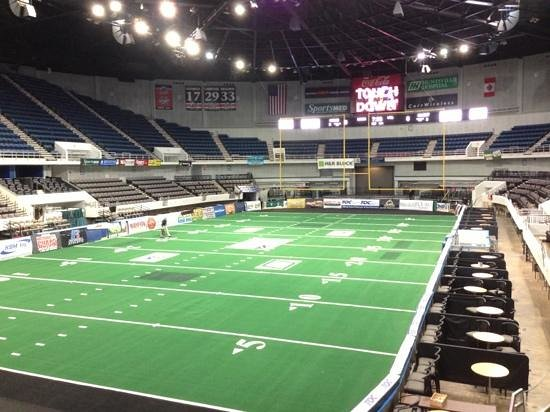 Von Braun Center: Arena Football