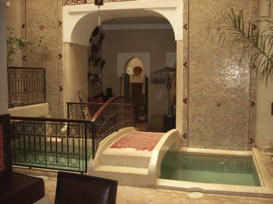 Riad Sidi Mimoune:                   Here children had a swim!