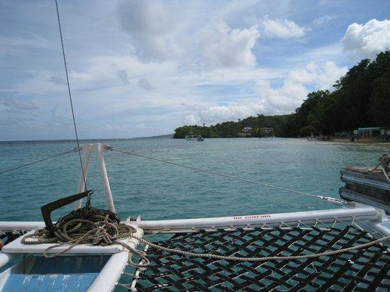 ClubHotel Riu Ocho Rios:                   Catamaran ride to Dunn's River Falls