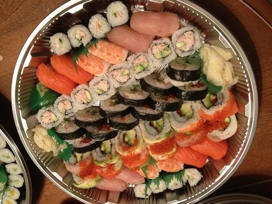 Nagomi sushi:                   party tray