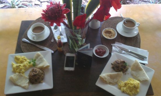 Milarepa:                   Yummy breakfast on patio