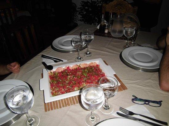 Posada La Movida: favolosa cena