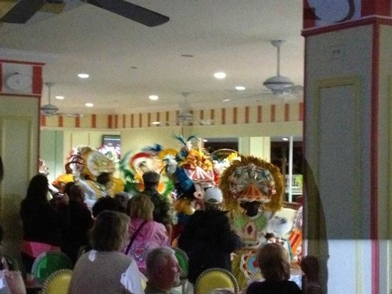 Breezes Resort & Spa Bahamas: Junkanoo Lobby Parade