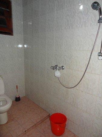 Rock House:                   bathroom