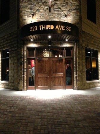 All Steak Restaurant: Front entrance