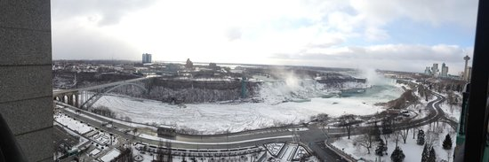 Sheraton on the Falls:                   View from room 2061