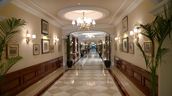 The Imperial Hotel :                   Hall
