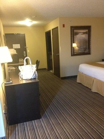 Holiday Inn Express Hotel & Suites Council Bluffs: king whirlpool room
