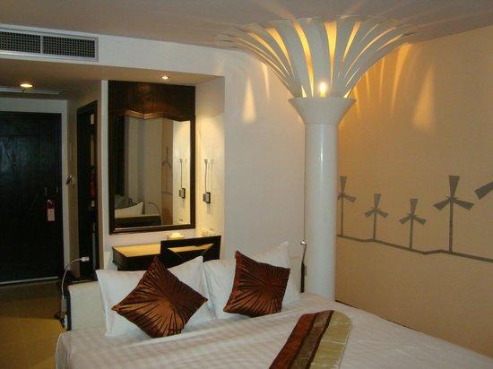 The BluEco Hotel:                   Room