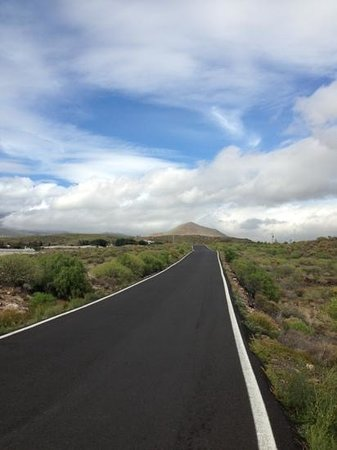 Bike Point El Medano:                   the road less travelled