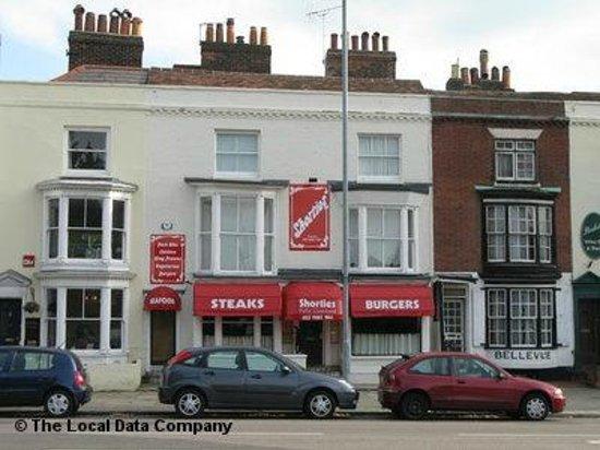 Shorties Restaurant:                   Portsmouth