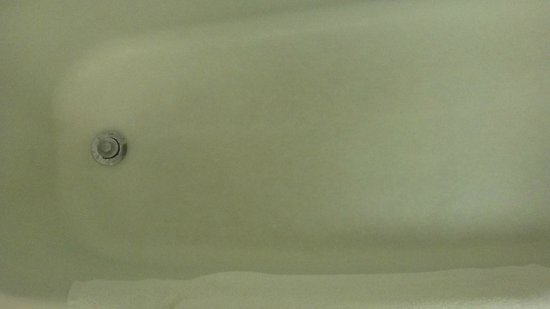 Fairfield Inn East Rutherford Meadowlands: Tub Bottom