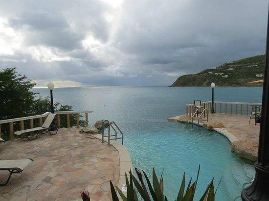 Divi Little Bay Beach Resort:                   Infinity Pool.. Small, pretty