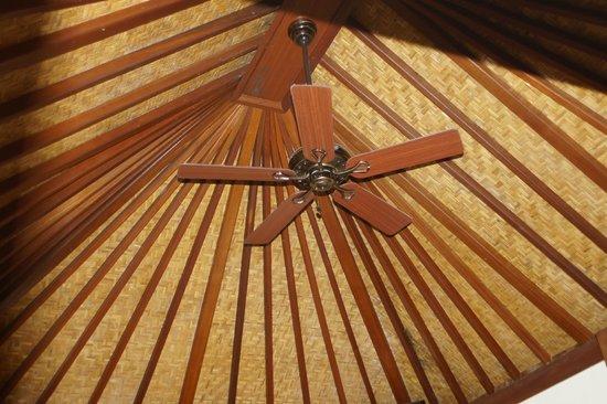 Villa Sarna Ubud:                   Shiva bedroom ceiling