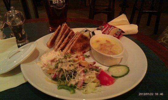 Ardlui Hotel: Chef' special, yummy