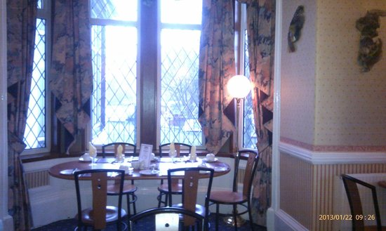 Ardlui Hotel: Breakfast table