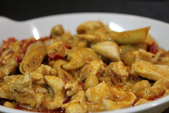Restaurante Fantastico:                   pollo curry thai