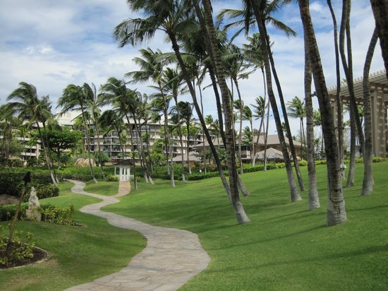 Hilton Waikoloa Village:                   View of the hotel