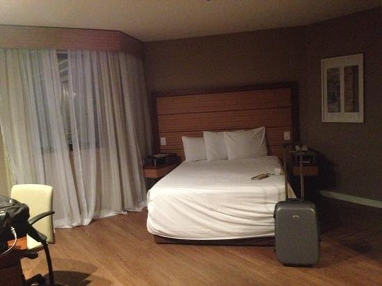 Sushi Palace: Double bed room